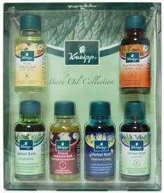 Kneipp Bath Oil Collection  #body #bath #spa