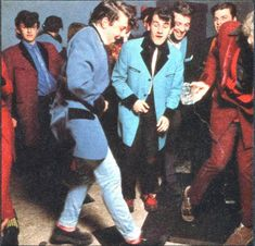 British Teddy Boy Revival, 1970s. Teddy Girl, Teddy Boys, Rockabilly Boys, Youth Subcultures, Evening Dresses With Sleeves, Marca Personal, Youth Culture, Psychobilly, Guys And Girls