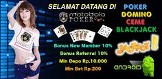 Indonesian online poker agent and domino qiu qiu qq and city ceme. To get more information visit http://motobolapoker.club.