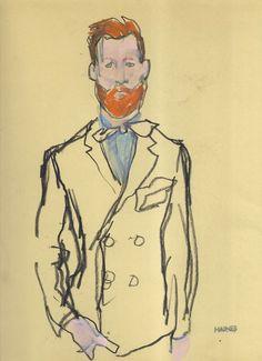 dandyportraits:  Jared Flint by Richard Haines