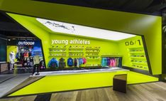 Inspiration for an exhibition / sport/ athletic/ Barçın Store by YALIN TAN + PARTNERS, Istanbul – Turkey » Retail Design Blog