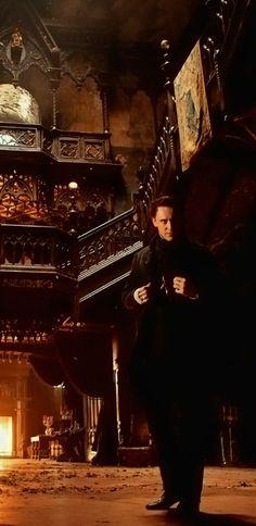 "Tom Hiddleston as Thomas Sharp ""Crimson Peak"""
