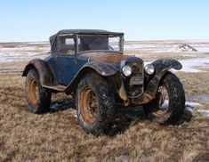 The original Monster truck for use in deep snow 1931 Ford 68B Convertible Montana Mail Truck