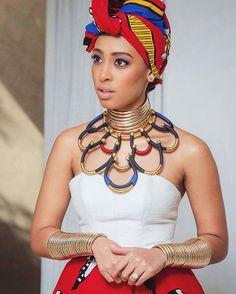 ❤ @sarahlanga #africaBride #Swati #AfricanCouture #africanprint #africanwedding