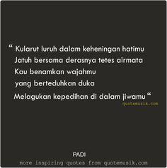 DP BBM keren Quote lagu PADI Rapuh
