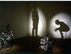 Light and Shadow Art by Kumi Yamashita 8 Kumi Yamashita, Instalation Art, Shadow Photos, Shadow Portraits, Shadow Images, Shadow Silhouette, Trash Art, Shadow Art, Junk Art