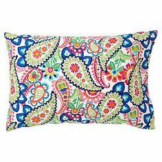 Pin Tuck Sleeping Bag + Pillowcase, Paisley #pbteen