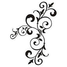 Šablóna na stenu Arabesky px05 | Šablóny na stenu, šablóny na maľovanie, šablóny ornamenty, šablóny dekoračné, maľovanie šablónami, šablóna ...