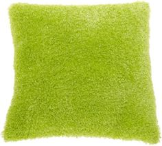 Brentwood Poodle 18 by 18 Pillow, Lime.  Buy New: $14.99  Deal by: SmartPillowShoppers.com