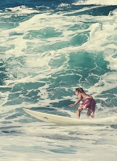 """May 2, 1820. Missionaries in Hawaii attempt to ban surfing as """"immodest and a waste of time."""""""