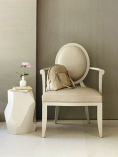 The Oval X-Back Chair from The Barbara Barry - Google Search