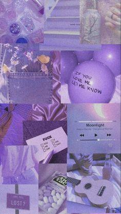 Light Purple Wallpaper, Purple Wallpaper Iphone, Iphone Wallpaper Tumblr Aesthetic, Iphone Background Wallpaper, Aesthetic Pastel Wallpaper, Colorful Wallpaper, Galaxy Wallpaper, Violet Aesthetic, Dark Purple Aesthetic