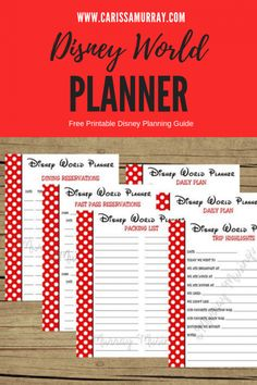 Disney Planning - Six Months to Go! | Carissa Murray | My Posh Life