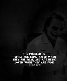 Joker Love Quotes, Heath Ledger Joker Quotes, Badass Quotes, Dark Quotes, Wisdom Quotes, Life Quotes, Qoutes, Great Inspirational Quotes, Unique Quotes
