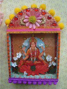 Goddess Lakshmi Shrine by filzgood