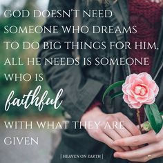 This made me reassess my life and the attitude I was having towards it. Was I really making the most of what it? Would I really call myself faithful? This could change the way you think about your life too. Click through to read post ...
