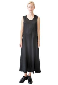 comme des garcons triangle seaming dress