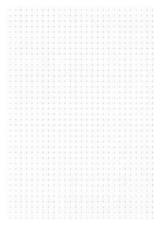 Dot Grid Paper with 5 mm spacing Bullet Journal Dot Grid, Bullet Journal Paper, Bullet Journal Writing, Bullet Journal Ideas Pages, Bullet Journal Inspiration, Grid Paper Printable, Free Printable, Printable Scrapbook Paper, Monthly Planner Printable