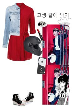 """""""Hye Mei-Dope(Sick) Cover"""" by bts-x-exo-97 ❤ liked on Polyvore featuring Topshop, 3x1 and County Of Milan"""