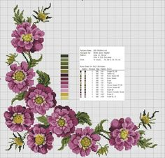 Cross Stitch Flowers, Elsa, Bullet Journal, Instagram Posts, Fabric, Dots, Punto De Cruz, Alanya, Tejido