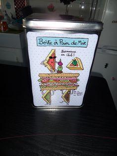 Boîte à pain de mie