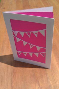 Celebration Greetings Card (Bunting)