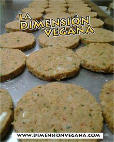 Hamburguesas Kilomberas. Las mejores hamburguesas veganas. #Receta #Vegana