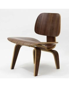 Plywood Lounge Wood Chair by ana
