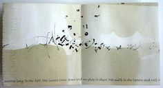 Yukimi Annand -A Tree is Nice Text by Janice May Udry Sumi ink on tea stained Arches text wove