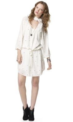 Anya Silk Mirrors Dress - Club Monaco Dresses - Club Monaco