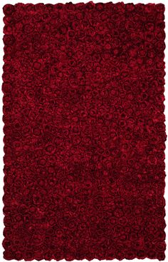 HRI Romeo 1 Red Hand-Tufted, Best Quality Area Ru