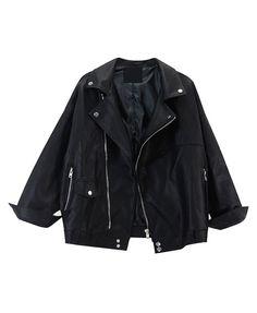 PU Zip Jacket