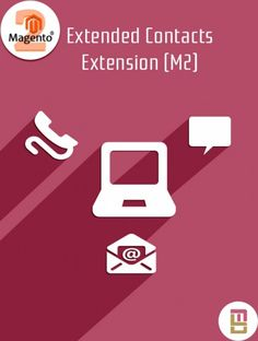 #Magento 2 extended contact #extension use for store owner can easily define multiple department with different names and recipient emails.. Send email for both email address admin and specific department.