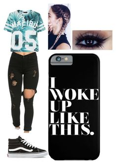 """""""Untitled #73"""" by ilianavaldez on Polyvore featuring Vans"""