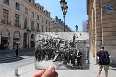 Paris past and present, Julien Knez