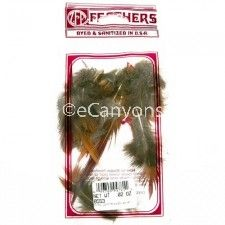 Zucker Feathers Natural Pheasant Tail Golden Red Top .02oz   Price : $0.79