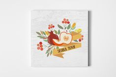 Shana tova card template by alps view art on creative market shana tova card template templates hi therethis is a card from my new rosh hashanah jewish new year set the product by alps view art reheart Gallery