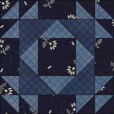 DOUBLE X, 3″, Dark Double X is pattern #4 in the original Ladies Art Company catalogue, so was in print from at least 1895. Carrie Hall kept the name Double X in her 1935 reference book, but it was ca