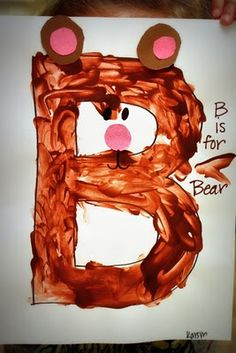 letter b bear