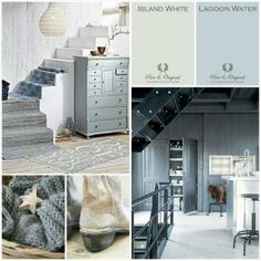 Moodboard by Anke Mosselman 'Konijnendijk Woontrends' with our Paint and colors.