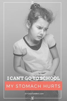 Does your child's stomach hurt only on school days? They might have school anxiety. This confusing problem can be very stessful to handle! Get some guidance from a child therapist.