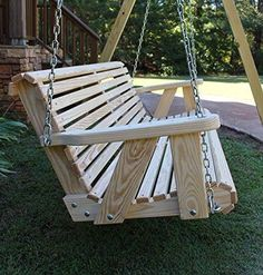 Double Sided Glider Swing Wood Working Pinterest