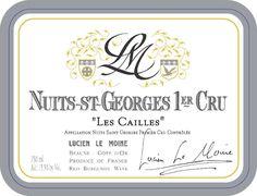 cantina Lucien le Moine, Nuit St. George 2010 Les Cailles
