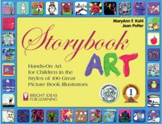 this book has art projects based off of 100 picture books. the article has great ideas for incorporating art and reading.