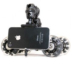 The iStabilizer Dolly provides a rolling skate for smartphone moviemaking #iphone #android #gadget