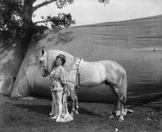 Equestrian, 1903  CIRCUS PERFORMERS, 1899-1928  from How to be a Retronaut