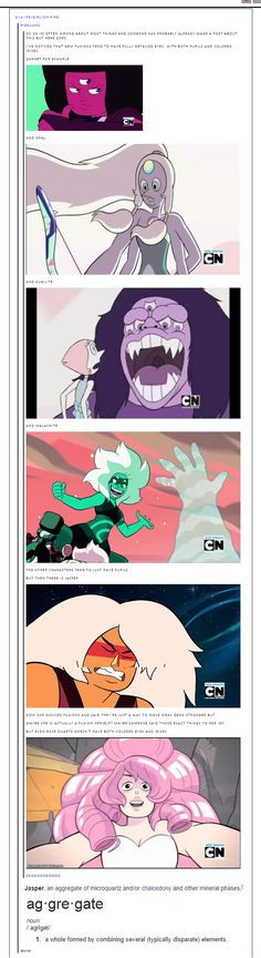 I HAVE heard this theory before, but we'll just have to see. Having the definition of Jasper there really helps the case though.