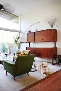 99 Mid Century Modern Living Room Interior Design (37)