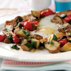 Veggie Breakfast Sizzle Recipe: Cook Vegetarian Magazine
