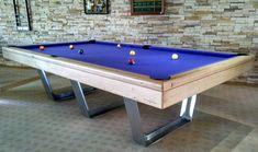 billard table inox billards bréton  compétition pool américain